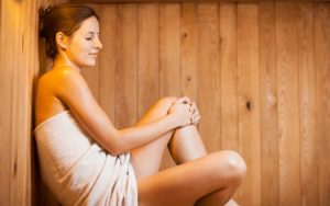 how to use an infrared sauna