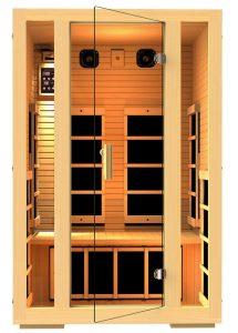 infrared sauna vs traditional sauna 2 person