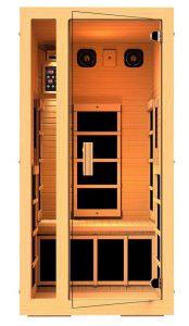 jnh lifestyles joyous 1 person far infrared sauna