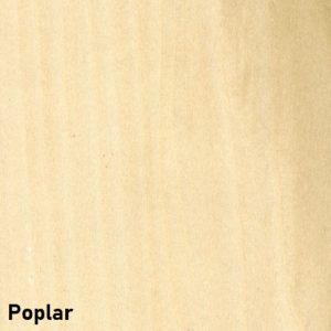 poplar wood sauna
