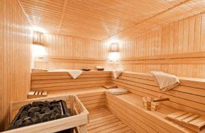 traditional sauna