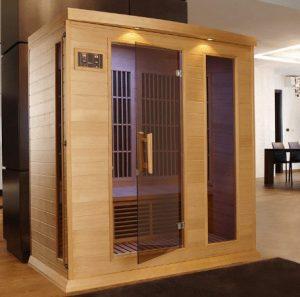 3 person sauna