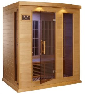 maxxus 3 person sauna