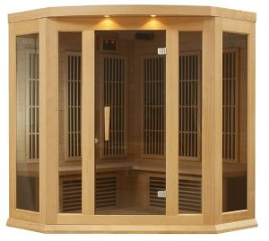 maxxus corner sauna