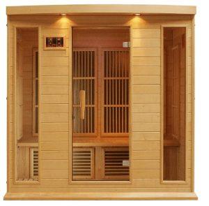 maxxus low emf far infrared sauna