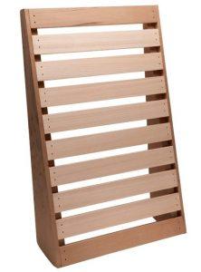 red cedar sauna backrest