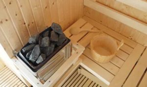 best sauna rock stone
