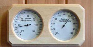 best sauna temperature