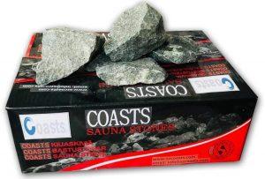 sauna heater rock stone