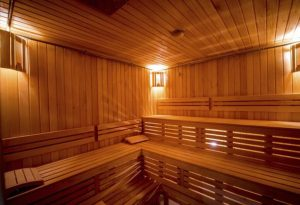 what is a dry sauna