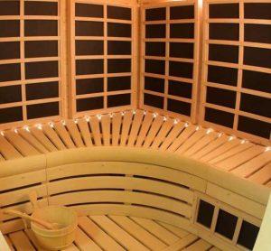 cheap infrared sauna wood