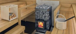 how to build a wood burning sauna stove at home