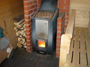 wood fired sauna stove