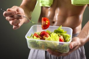keep on a helath diet too lose fat