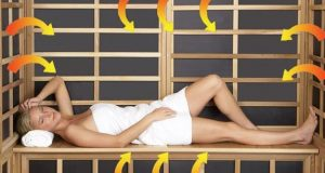 how long should you stay in an infrared sauna