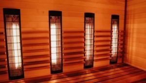 how many amps does an infrared sauna use