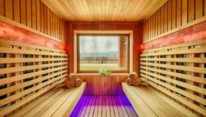 how long to use infrared sauna